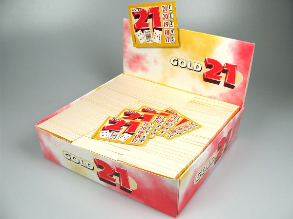 Spel gold 21, open box