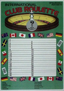 International Club Roulette, Rubbellose